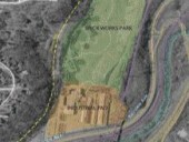 The site plan of the Brick Works