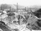The site as it appeared during its heyday in the 1920s.