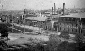 The E.B. Eddy Buildings around 1905