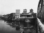 The Chaudire Bridge in 1955
