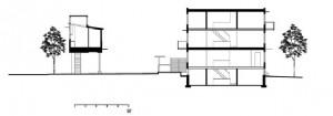 Section1 Raised Loft2 Parking Court3 Rear Deck4 Lower 2-Bedroom Unit5 Upper 2-Bedroom Unit