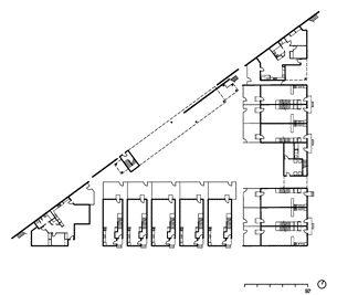 First Floor1 Entry2 Kitchen3 Dining4 Living5 Rear Deck6 Bedroom7 Washroom8 Laundry
