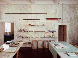 The Rome Apartment and Studio, in Trastevere That Was Renovated by the First Prix De Rome Winner John Shnier in 1987.