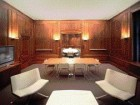 Original Wood Panelling Was Uncovered in the Formal Suite at the Back of the Building