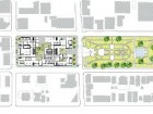 THE PLAN OF THE SITE IN CALGARY'S BELTLINE COMMUNITY;