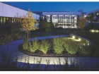 The Interior Courtyard Designed By Landscape Architect Doug Carlyle.