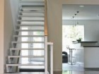 THE CENTRAL STAIR ALSO PROVIDES A SIGNIFICANT ORGANIZING PRINCIPLE;
