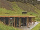 The award-winning Hrunamannahreppur summer house by the Reykjavk architecture firm of ASK Arkitektar is delightfully sited in a rural landscape and successfully incorporates a green roof into its architecture.