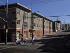 The Metro townhouses provide a safe place to live for many low-income and difficult-to-house tenants.