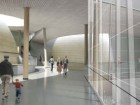 The main hall of the new planetarium.