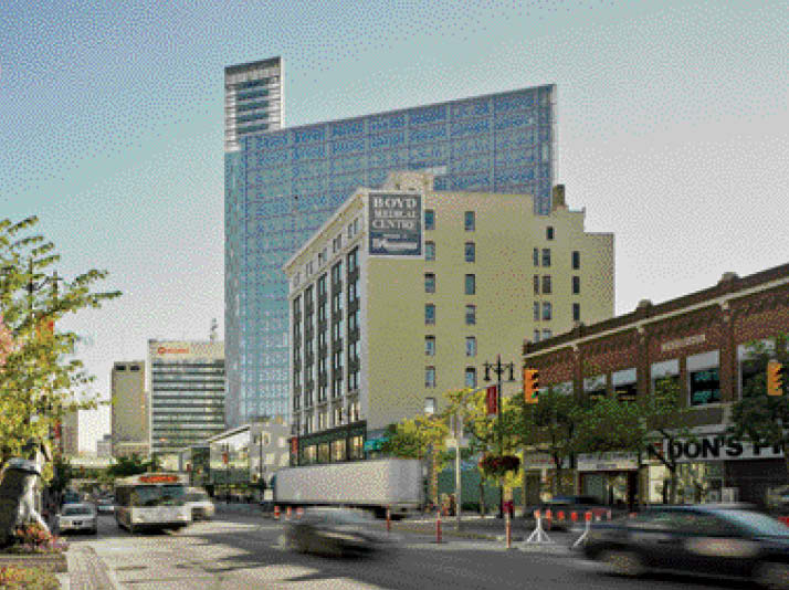 Rising along Winnipeg's Portage Avenue, Manitoba Hydro Place ushers in a new era of office building for a city that already has a rich history of high-rise architecture.