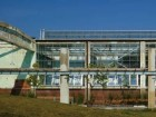 A view of the new greenhouse for The Stop, a non-profit urban agriculture organization.