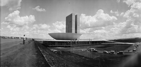 national congress by oscar niemeyer
