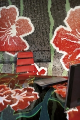 trend USA custom mosaic tile - architect francesco lucchese