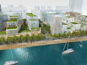 bayside aitken place - rendering courtesy of Hines