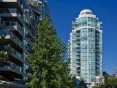 Cheng's 888 Beach Avenue set a '90s Vancouver precedent of glassy residential towers capturing expansive views while integrating the architecture to adjacent public amenities.