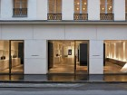 The faade for the new Givenchy flagship boutique on Rue du Faubourg Saint-Honor plays to the minimalist approach of merchandising the fashionable offerings within.