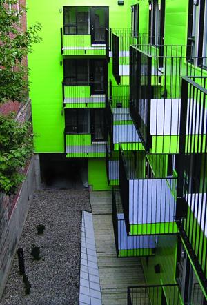 atelier big city les jardins du Y des femmes, montreal, 2004