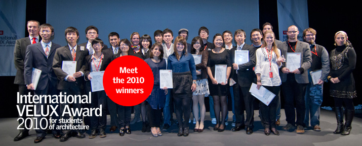 2010 VELUX student award winners