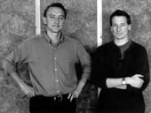 left to right: peter st. john, adam caruso