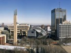 The Art Gallery of Alberta in its downtown urban context. Robert Lemermeyer