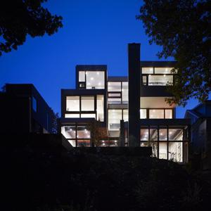 Ravine House by Drew Mandel Architects.