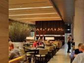 Luma, the restaurant on the second floor, provides a suitably sophisticated environment for civilized dining. Tom Arban