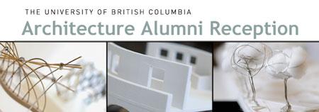 UBC architecture alumni reception
