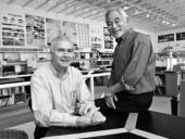 Bing Thom and fellow Principal of Bing Thom Architects, Michael Heeney. Thomas Billingsley