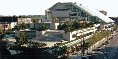 Bing Thom was the project architect for Arthur Erickson's iconic Robson Square and Provincial Law Courts. Courtesy Bing Thom Architects