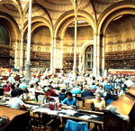 reading room, bibliotheque nationale