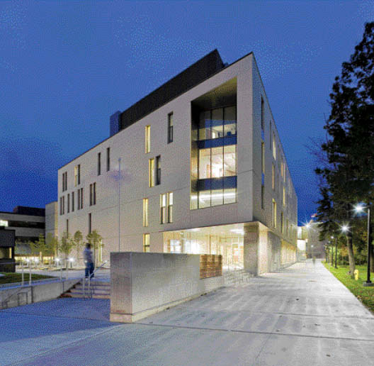 The Arts and Administration Building at the University of Toronto's Scarborough campus facilitates a new era of post-secondary life. Tom Arban