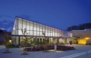 An exterior view of the Toronto Botanical Garden. Tom Arban