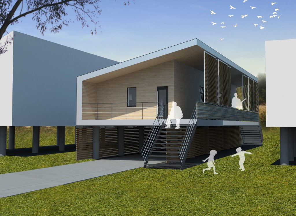 Sustainable to architecture building takes top prize in for Home design competition