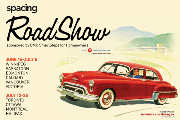 spacing road show