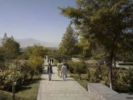 babur gardens, kabul, afghanistan. photo by christian richters. with permission of the aga khan trust for culture.