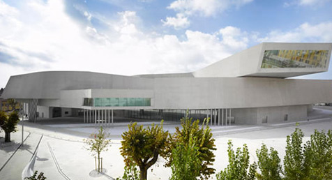 2010 world building of the year - MAXXI, national museum of XXI century arts in rome, italy by zaha hadid architects, UK