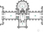 Second Floor   1 atrium   2 butterfly stair   3 apse/discovery centre   4 elevator   5 water gallery   6 mammal gallery