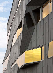 The new addition to the Perimeter Institute for Theoretical Physics was designed by Teeple Architects Inc. Scott Norsworthy