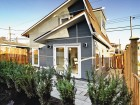 Smallworks Studios produced this contemporary laneway house which contains 475 square feet of living space. Smallworks Studios