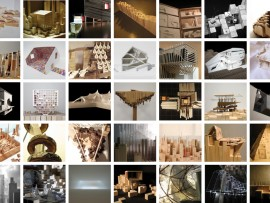 Images of some of the 120 entries received by the organizers for Canada's official entry to the 2012 Venice Biennale in Architecture.