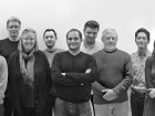 Patkau Architects Inc. in joint venture with Kearns Mancini Architects Inc.--Back row, left to right: Luke Stern, Mike Green, John Patkau, Shane O'Neill, James Eidse, Peter Ng, Jonathan Kearns, Tony Mancini. Front row, left to right: Peter Suter, Michael Thorpe, Dimitri Koubatis, Patricia Patkau, Thomas Schroeder, Dan McNeil, Lucy O'Connor, Gabriel Didiano.