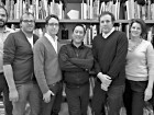 Williamson Chong Architects--left to right: Chris Routley, Vlad Berezovskiy, Ultan Byrne, Donald Chong, Shane Williamson, Betsy Williamson, Dimitra Papantonis.