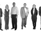 McFarland Marceau Architects Ltd.--left to right: John Hemsworth, Andrea Davison, Alvin Martin, Larry McFarland, Marie-Odile Marceau, Craig Duffield.