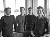 Marc Blouin, Architecte--left to right: Marc Blouin, Maxime Hroux, Philippe Nolet, Sylvain Bilodeau.