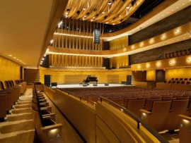 Royal Conservatory's TELUS Centre for Performance and Learning. Photo by Tom Arban.
