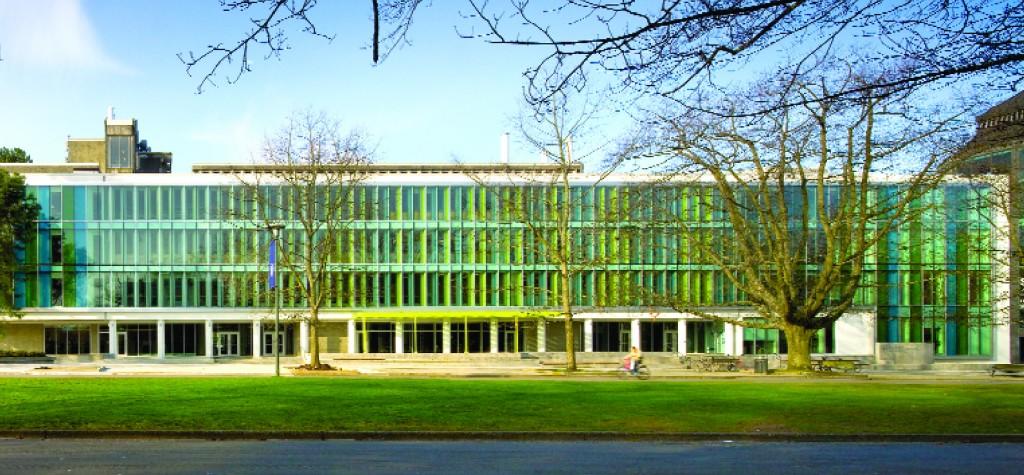 sauder school of business: photo by nic lehoux