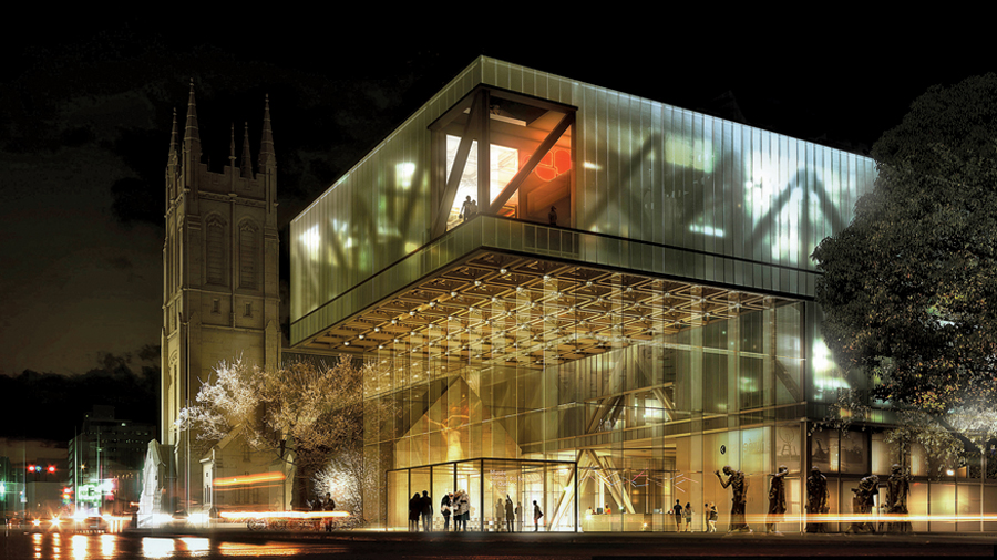 Designed by OMA and Provencher Roy et associs, the new Muse National des Beaux Arts du Qubec in Quebec City is the result of a well-conceived design competition. The museum is expected to open in 2014. OMA/Provencher Roy et Associs