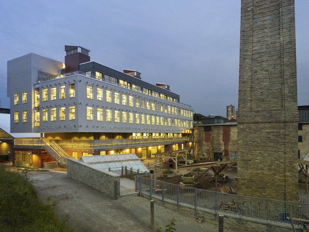 the centre for green cities, evergreen brick works