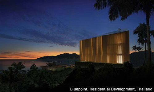 bluepoint residential development, thailand